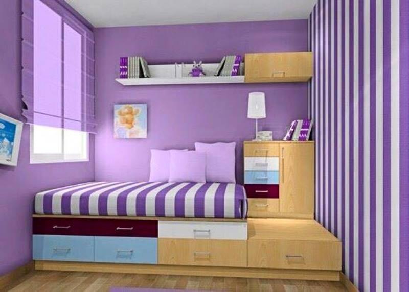 Warna Cat Kamar Tidur ini Cocok Untuk Ruangan Sempit