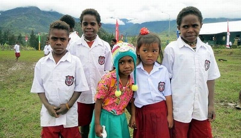 Pendidikan di Pelosok Papua Mati Suri