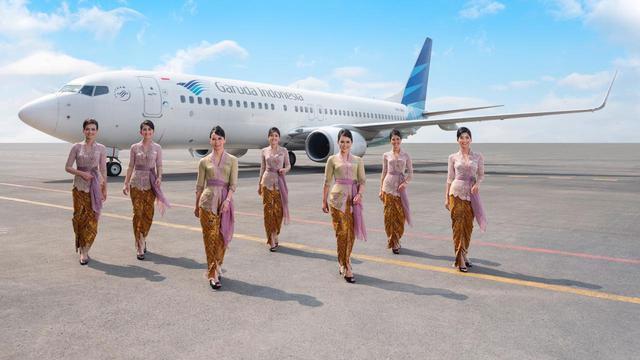 Garuda Indonesia Hentikan Penerbangan Kemersial