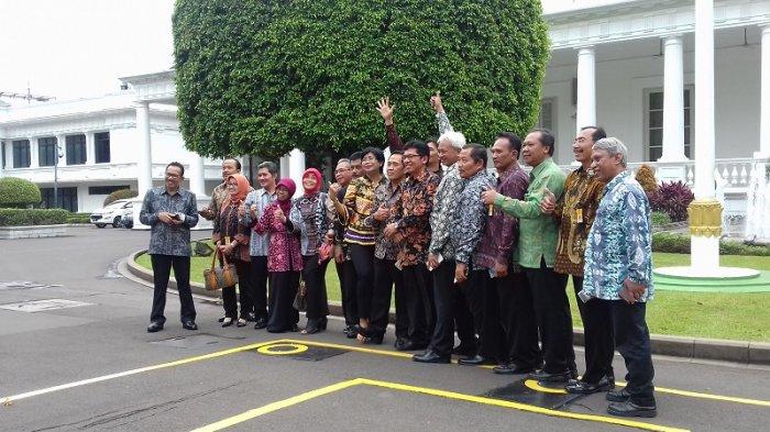 Junior Curhat soal Bisnis ke Jokowi