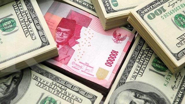 Rupiah Melemah, Medekat Ke Angka 14.000 per Dolar AS