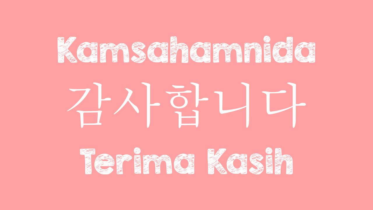 "5 Ucapan Balasan Terima Kasih dalam Bahasa Korea, ""Sama-sama"" Apa Ya"